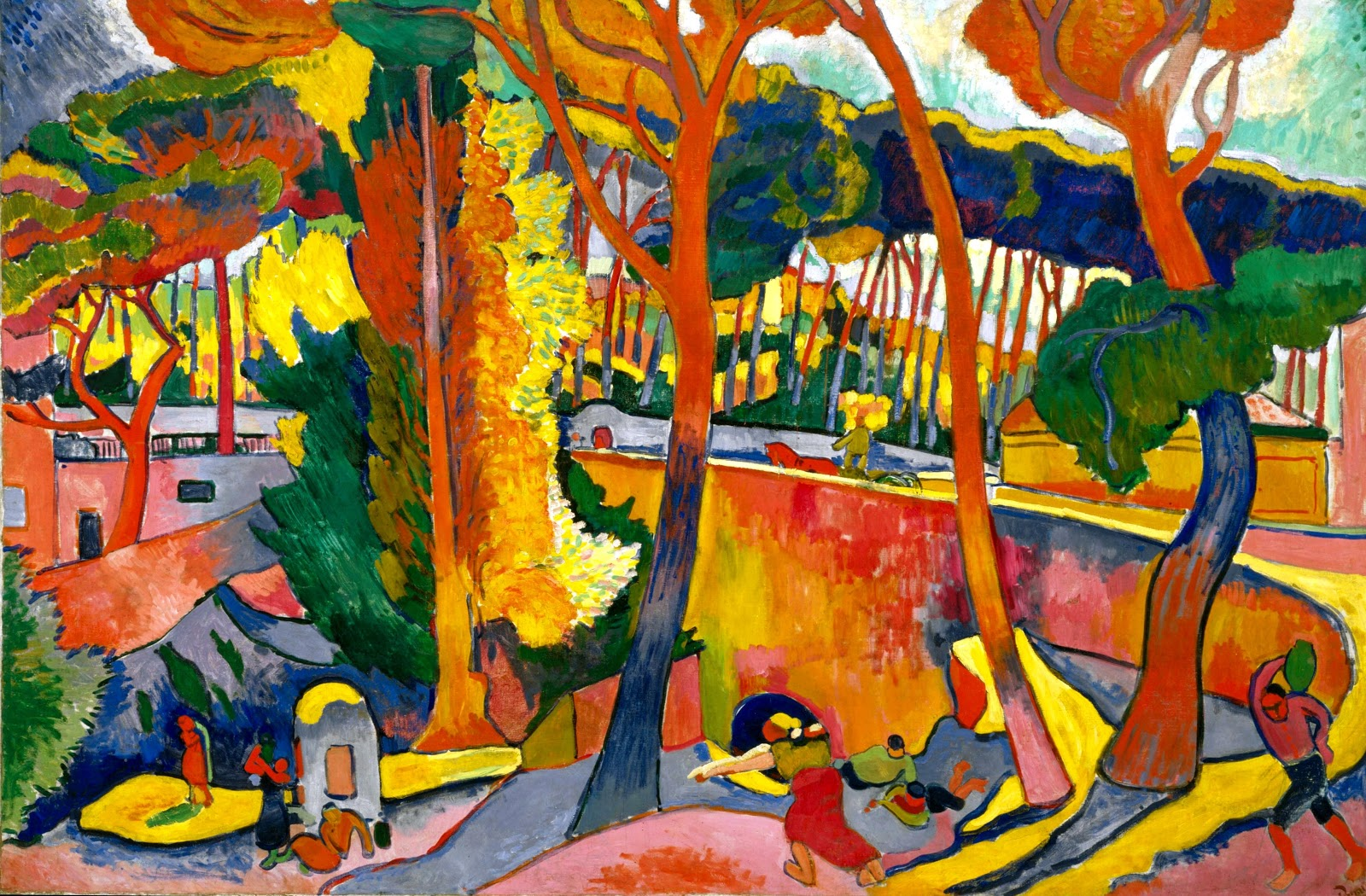 Andre Derain the turning road lestaque