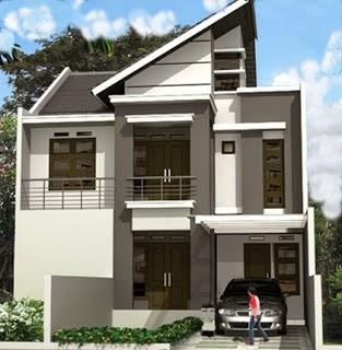 Contoh Model dan Desain Atap Rumah Minimalis Modern