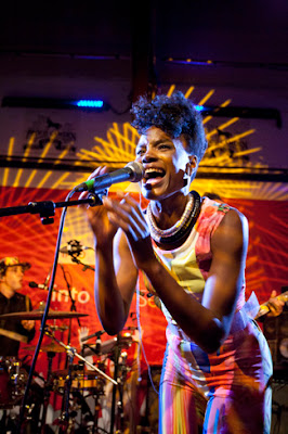 The Noisettes lead singer shingai