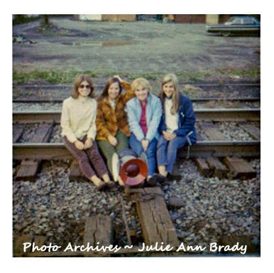 ONU Ada, Ohio - New College Friends on the Railroad Tracks