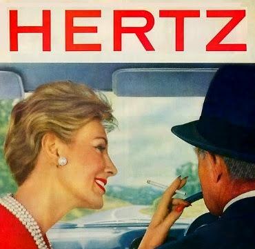 Cartel de Hertz en 1959