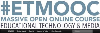 #etmooc, digital identity, online presence, developing an online identity