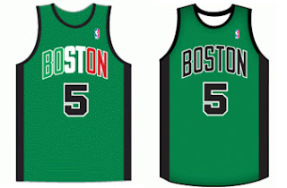 NBA 2K13 Boston Celtics Alternate Jerseys