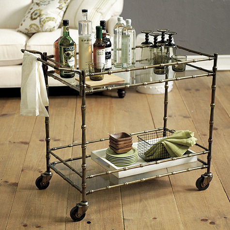 I Know There Are Some Cool Bar Carts Out Like The Ones From Society Social But Feel A Bit Too Hip For Me Love That Ballard S Cart Is