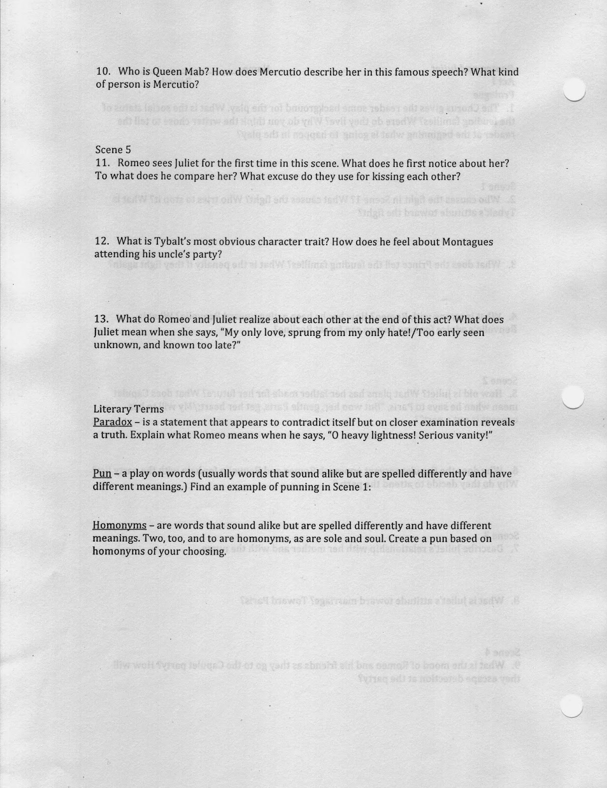 Literary Examples Of Paradox Gallery Example Cover Letter For Resume