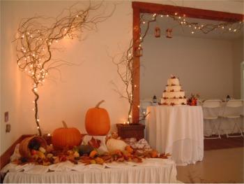Fall wedding decoration ideas wedding ideas for October wedding decoration ideas