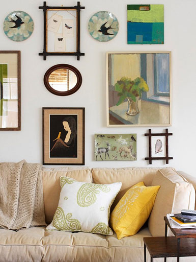 Foto Bilderwand Belle Maison