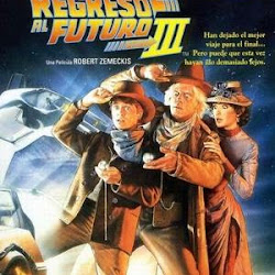 Poster Back to the Future Part III 1990