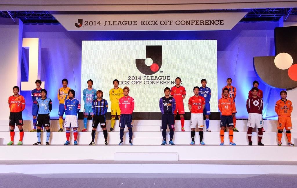 Para Pemain dari 18 Klub Peserta J1 J.League Musim 2014