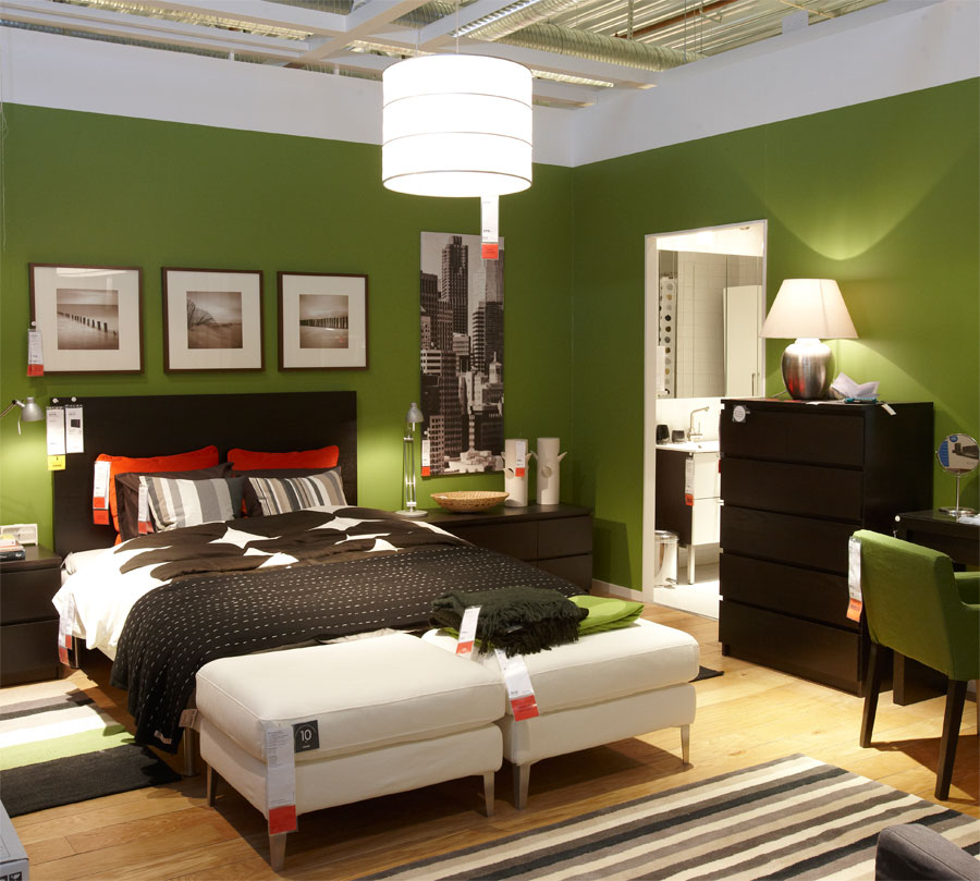 green bedroom design - Green Bedroom Design