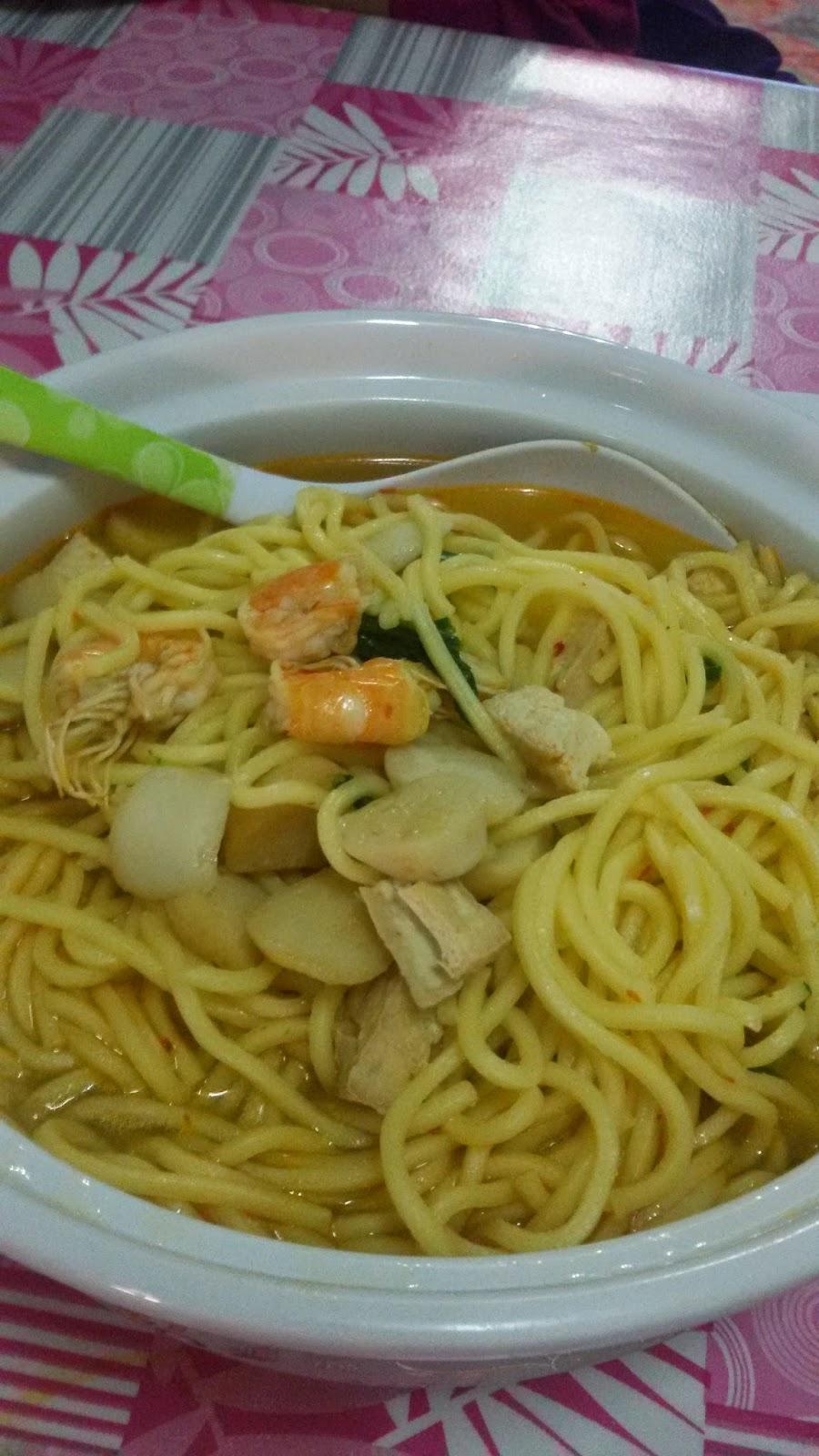 resepi mee sup simple dan enak buat minum petang