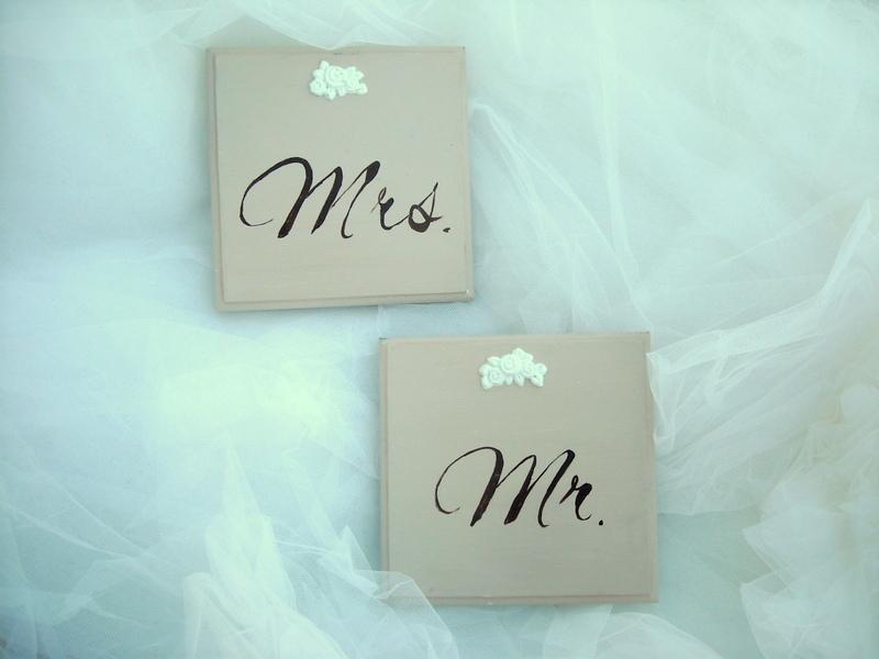 Decoratiuni nunta - KOFI - placute nunta