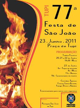 77a     FESTA de SÃO JOÃO de Tupi: