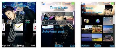 2PM SonyEricsson手機主題for Elm/Hazel/Yari/W20﹝240x320﹞
