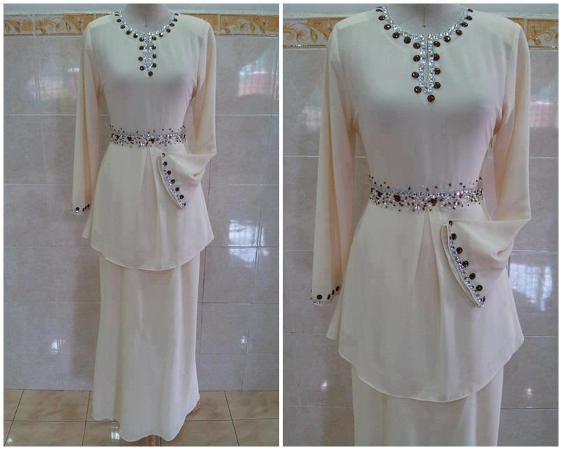 Fashion Terbaru Dari Kain Korera Silk Chiffon Full Lining