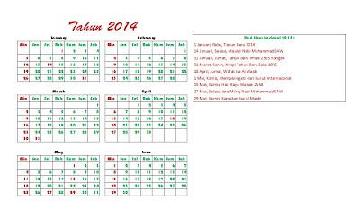 kalender 2014 beserta hari libur new calendar template site