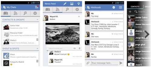 Spotbros chatea gratis con todos tus contactos en tu Smartphone - www.dominioblogger.com