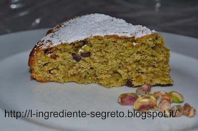 torta di pistacchi