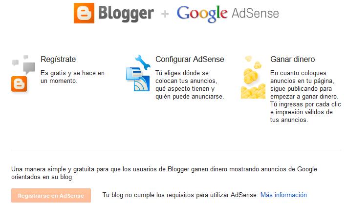 blogger google adsense