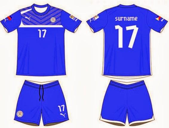 memesan sesuai dengan contoh desain kostum sepak bola terbaru dibawah