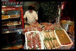 Street Kabob Vendor