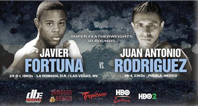 Javier Fortuna vs. Juan Antonio Rodriguez live Boxing