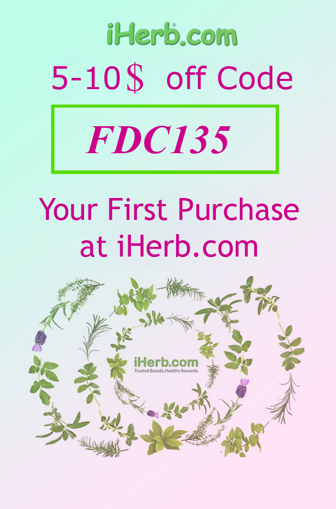 Coupon Code at iHerb - FDC135