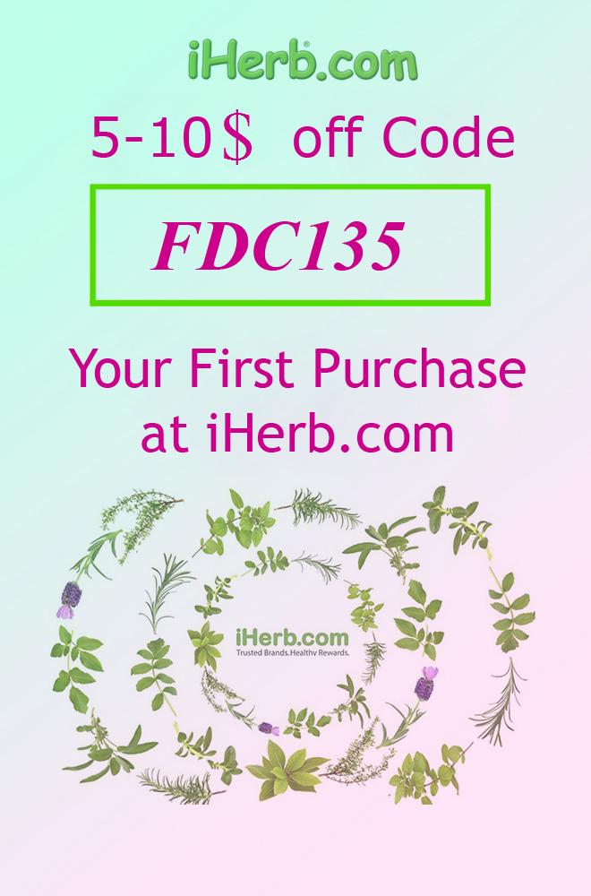 Coupon Code at iHerb - FDC135