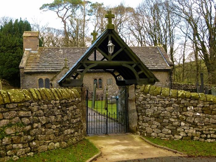 St Leonard's, Chapel le Dale, lych gate