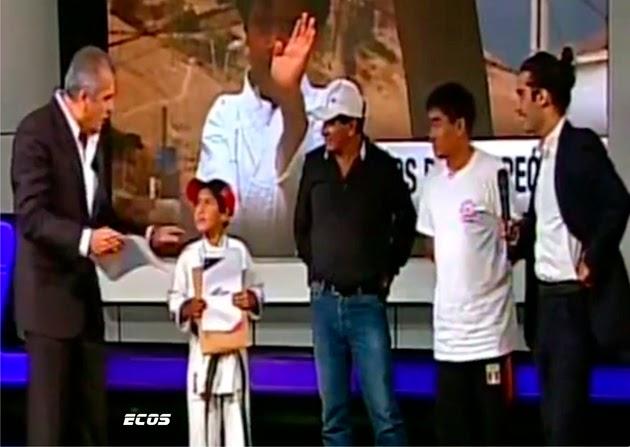 Niño cañetano de 9 años, campeón de karate viajará a campeonato en Brasil, gracias a apoyo