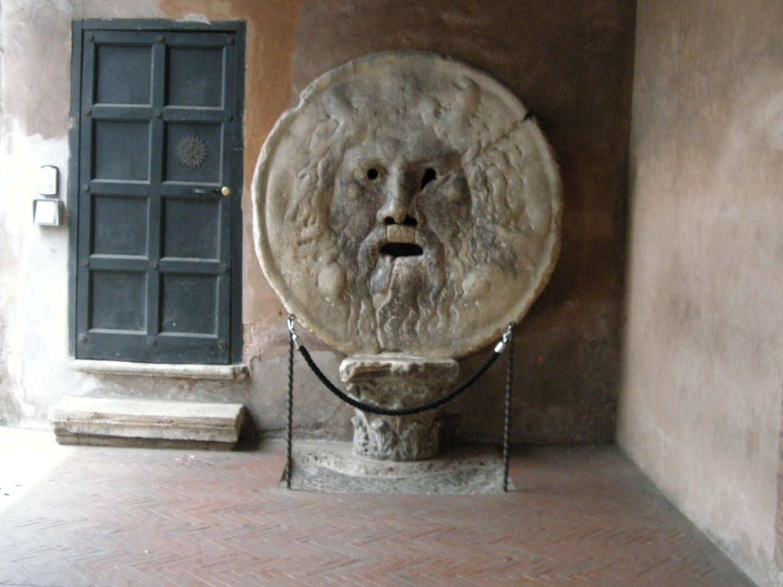 La Bocca della Verità | La scultura romana del 1485