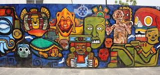 Parte 4 del mural en México DF
