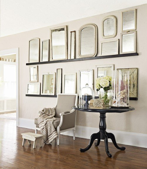 A Gallery Wall Of Mirrors