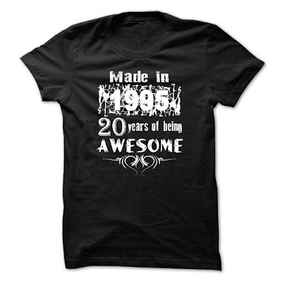 Made In 1995 - 20 Years Of Being Awesome