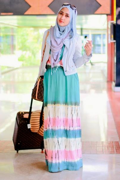 Model Baju Hijab Dian Pelangi terbaru 2016 yang Stylish dan Indah