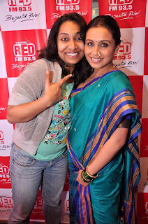 Rani promotes 'Aiyyaa' on RED FM 93.5 & 98.3 FM Radio Mirchi