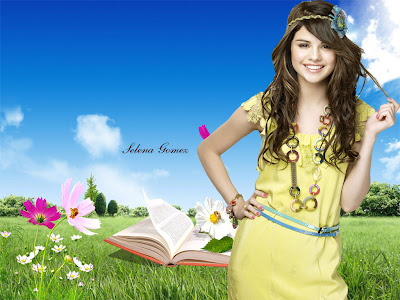 Selena Gomez Beautiful Desktop Wallpaper