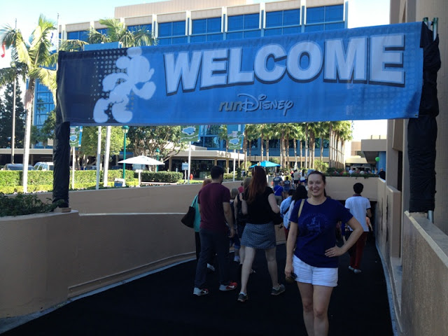 Budget Fairy Tale: Disneyland Race Weekend 2013 Part 1 - The Expo