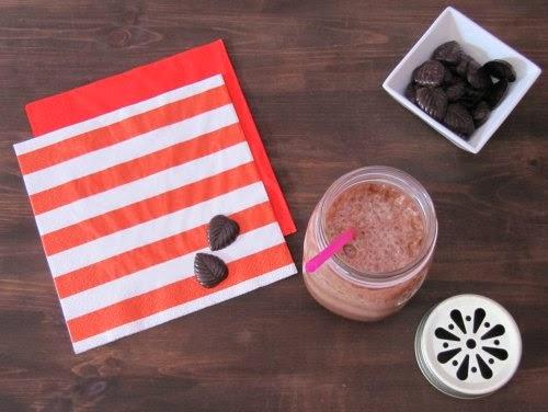 Presentación batido chocolate