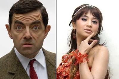 Mr. Bean Terkejut Melihat kostum Pocong !