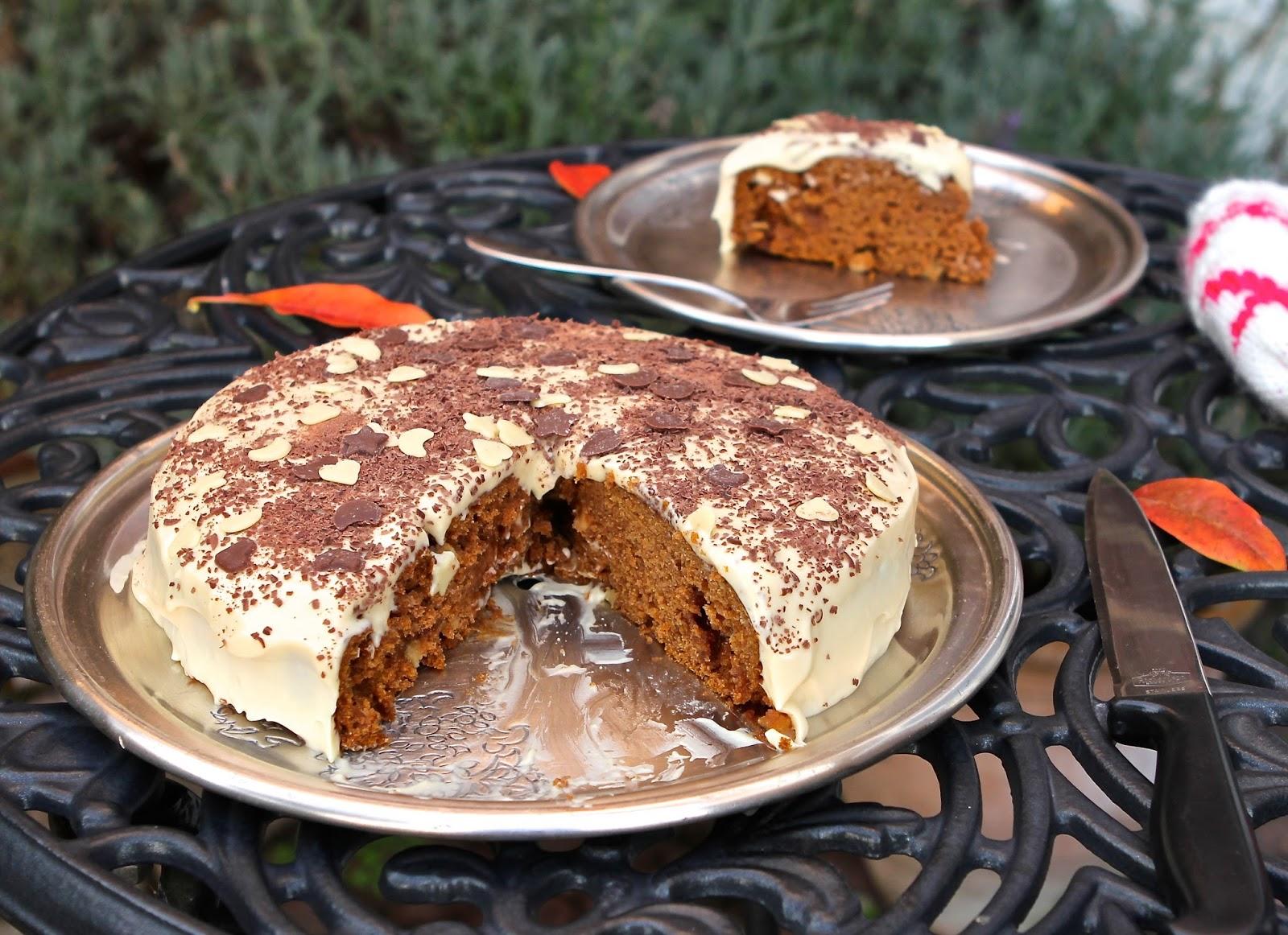 Pumpkin Toffee Cake