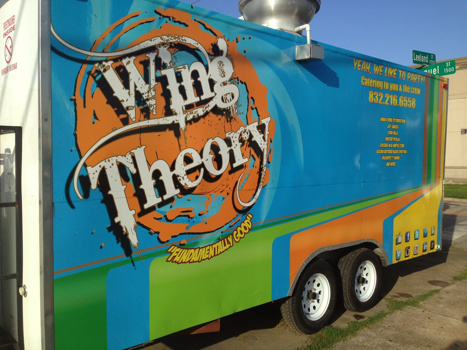 Wing Theory Food Truck, Houston, TX