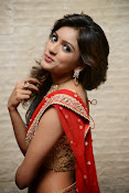 vithika sheru half saree photos-thumbnail-5