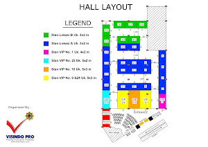 Floor Plan 2nd Aceh book Fair 2013 di Hermes Palace Mall Banda Aceh