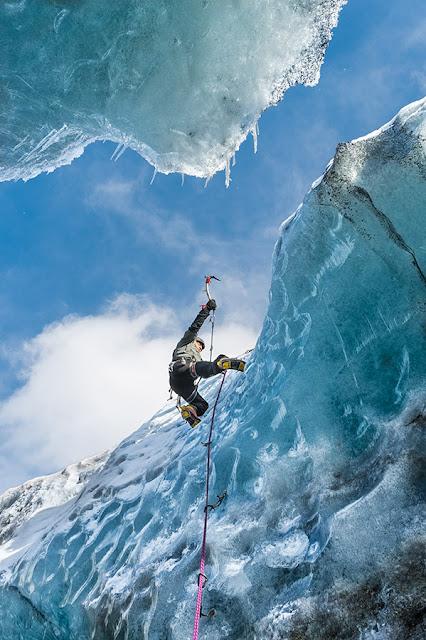 Blog o podróżach - Wspinaczka w lodzie