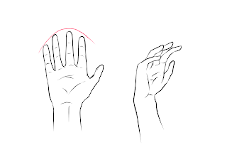 Drawing Hands Step 7