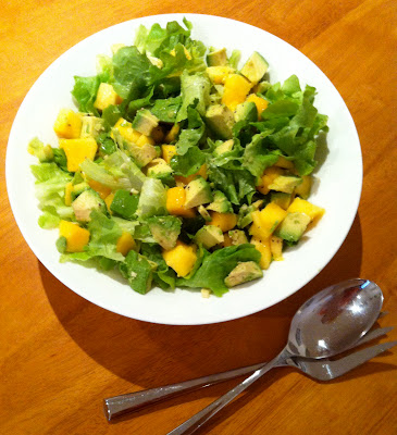 SouthernSpoon blog: mango avocado salad