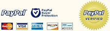 Shopping Cart payment using Paypal & Credit Card