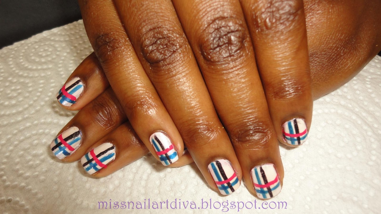 Drawing Lines On Nails : Nail art designs with lines joy studio design gallery