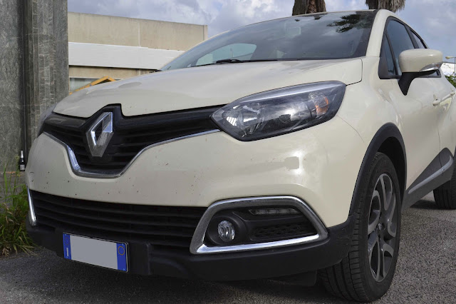 Fantechnology test drive renault captur live 1 5 dci 90 cv for Clio bianco avorio